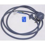 11855 CABLE ENTRADA CORRIENTE GRIS 1500mm ( Entrega aprox: 3 - 4 días )